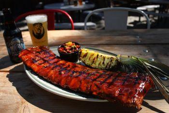 Crosby's Tavern, Monday Night Football BBQ Ribs Special!