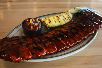 Crosby's Tavern, Full Rack of BBQ Pork Ribs